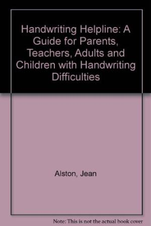 Handwriting Helpline, by Jean Alston and Jane Taylor.